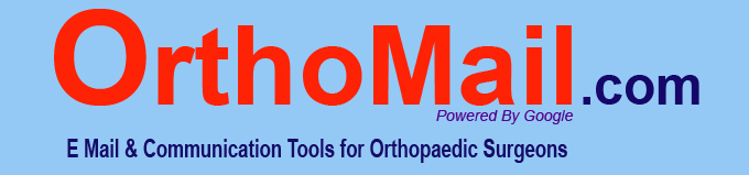 Orthomail.com:Free 6 GB email for orthopaedic surgeons